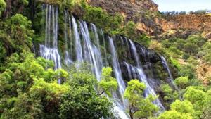 margoon waterfall iran