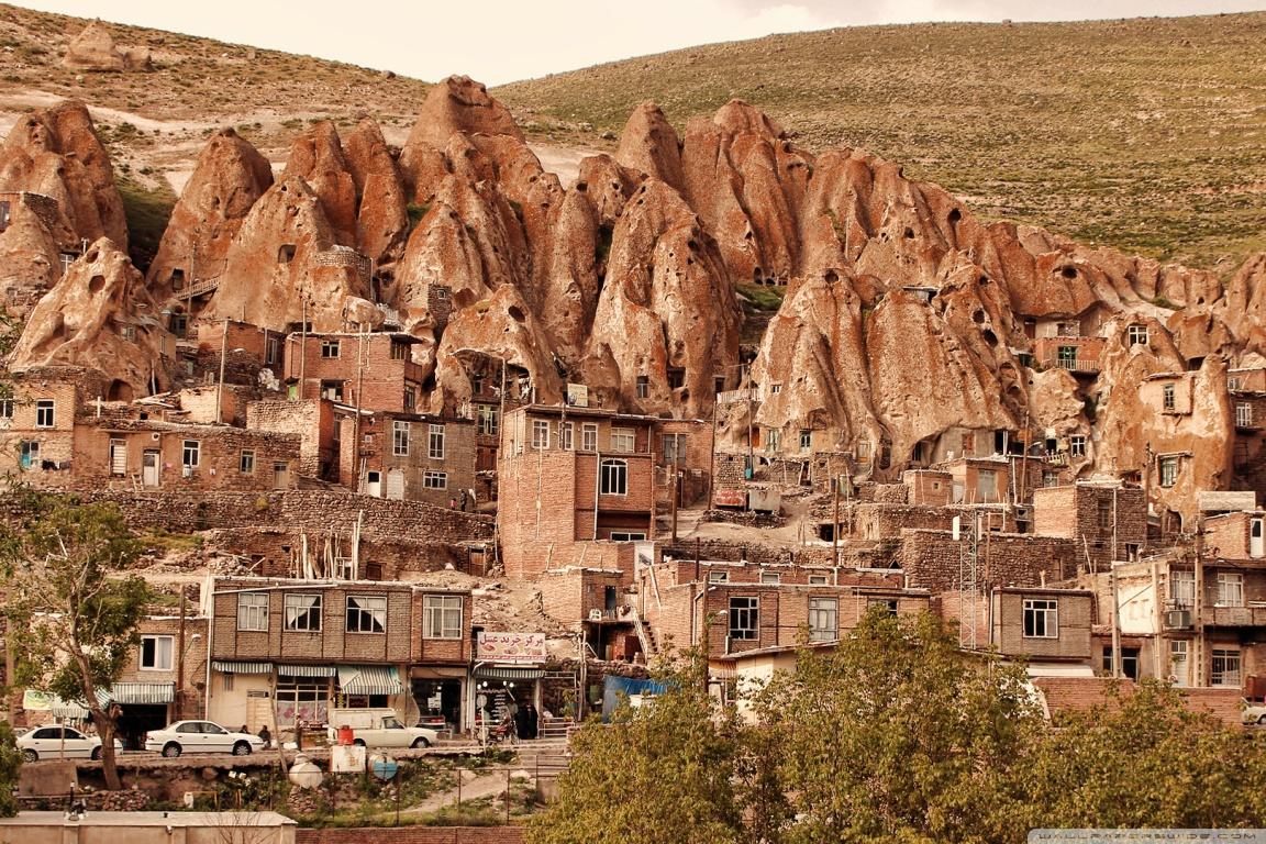 이란 칸도반 마을