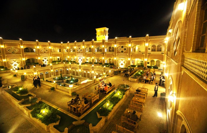 iran luxury hotel