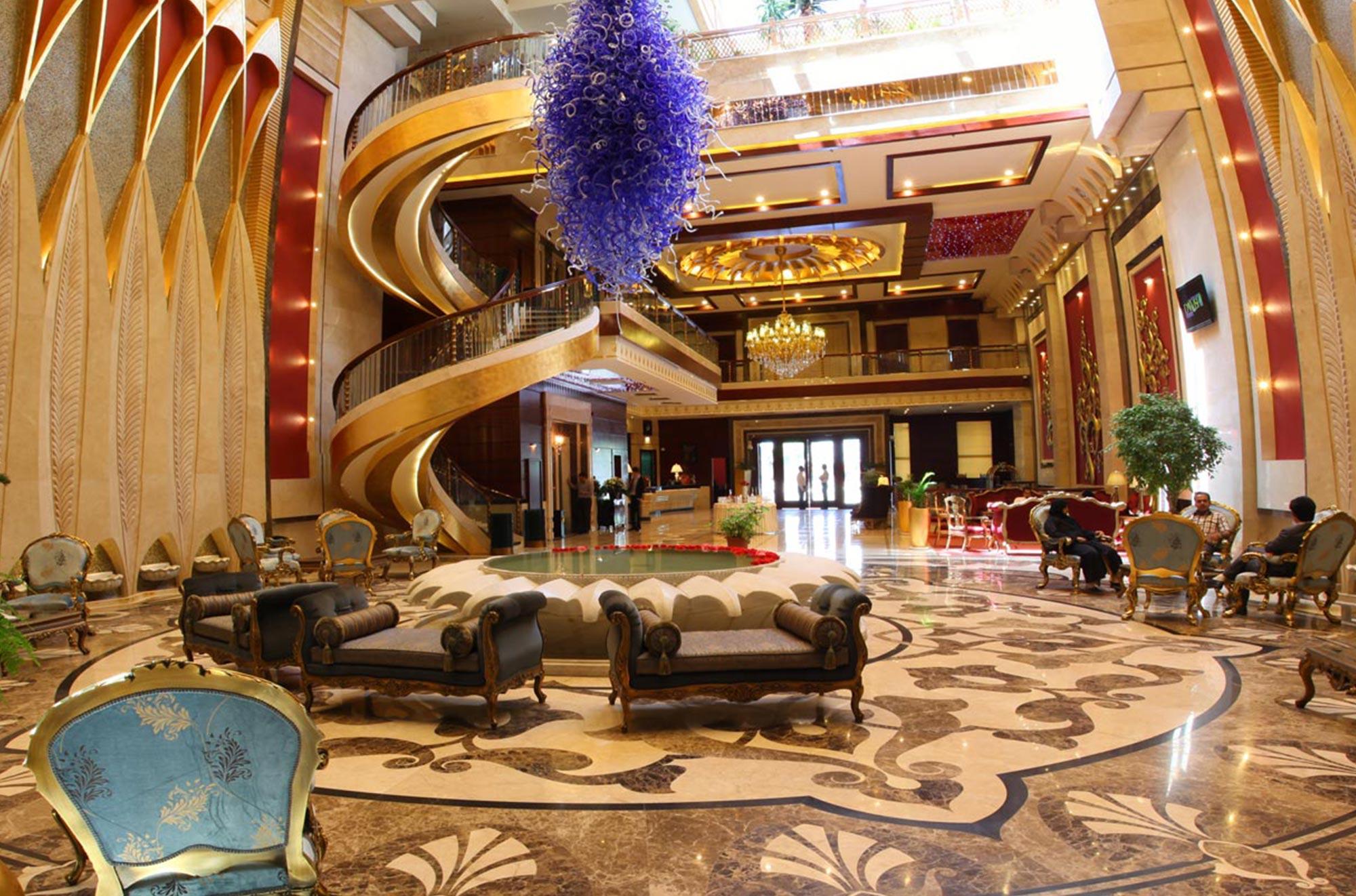 iran luxury accommodation