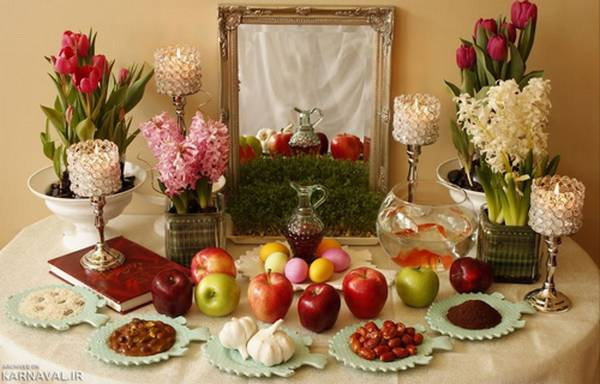 Iranian Haft-Seen for new year