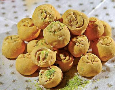 Iranian pea cookie for new year