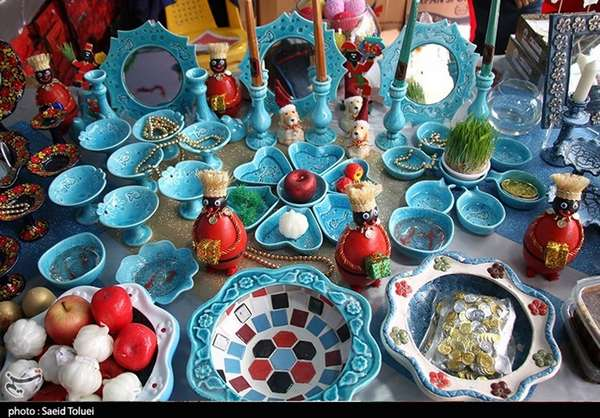 Persian Traditional Haft Seen Dishes
