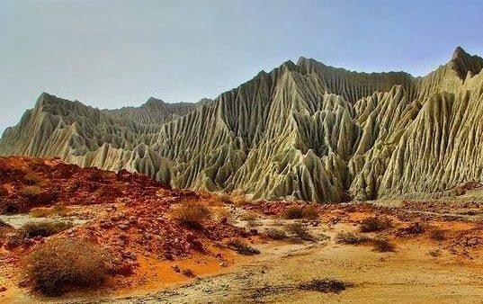 Martian Mountains-Iran_Chabahar - Systan va Baluchestan