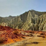 Martian Mountains-iran_Chabahar