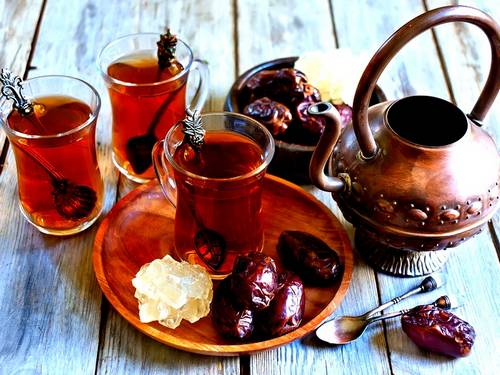 Tea- common Iranian traditional drink