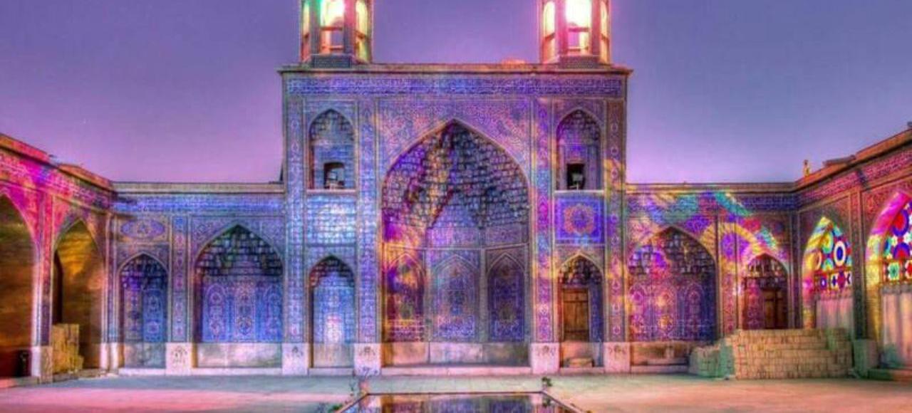 mosques in Shiraz, Iran