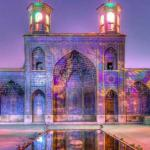 mosques in Shiraz, Iran