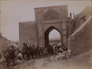 old Quran gate