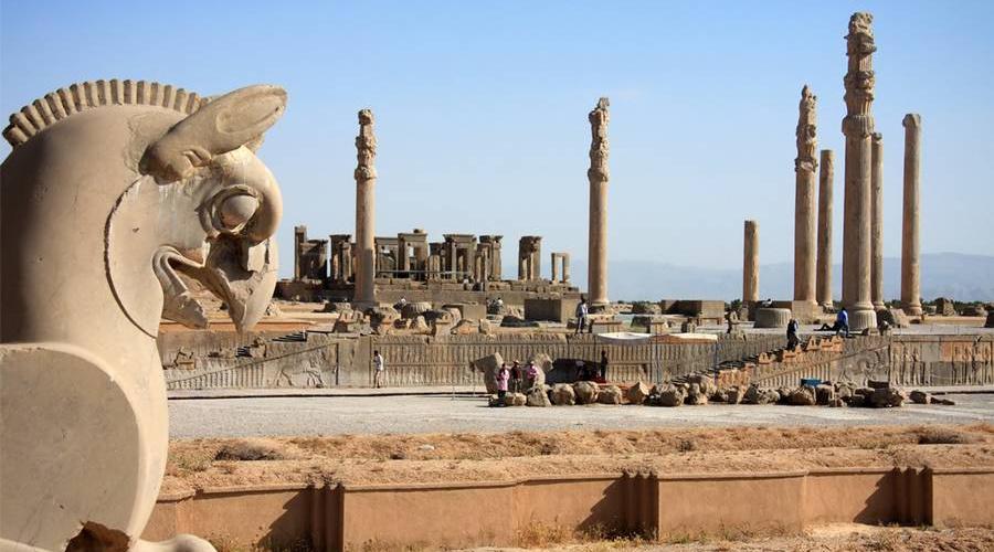 ruins of persepolis - Iran, Shiraz