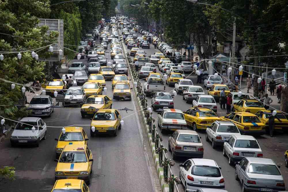 informations sur les transports en Iran