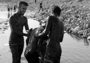 Iran mud therapy