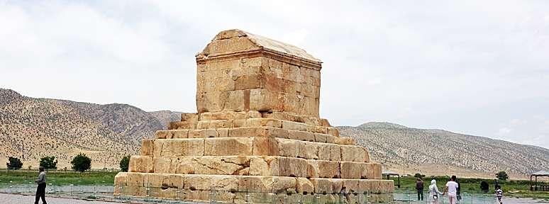 Pasargades, ancienne capitale de la Perse antique
