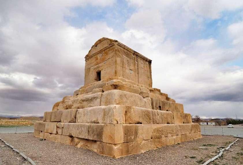 Visite guidée de Pasargades en Iran