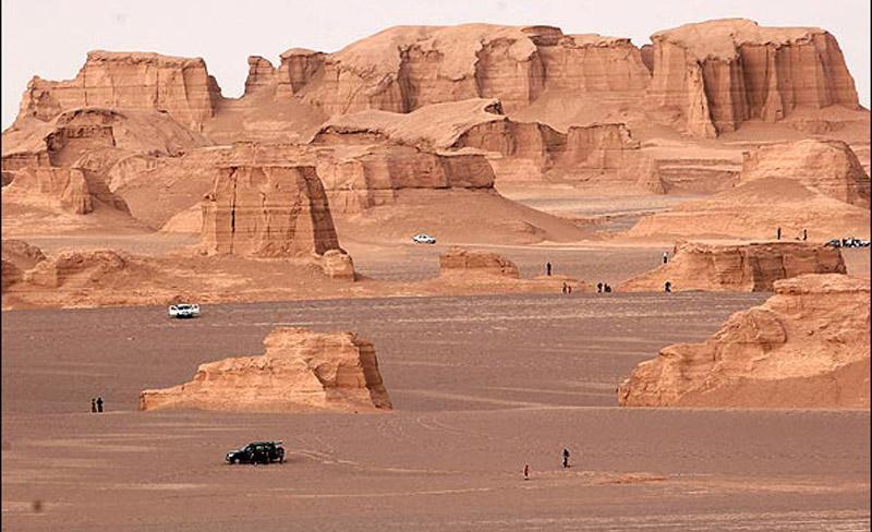 Shahdad Desert _ Kerman-Iran