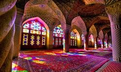 Iran Culture and Heritage-pink mosque Nasir ol Molk
