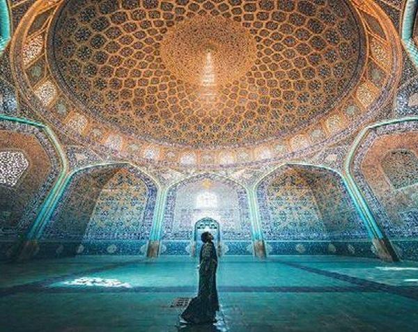 Sheikh Lotf-o-Allah Mosque-Isfahan-Iran 8