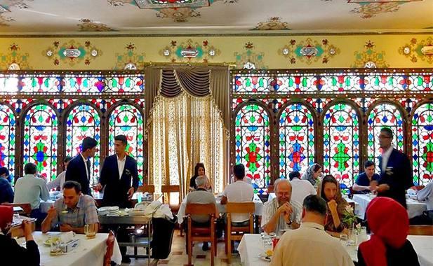 les restaurants en Iran