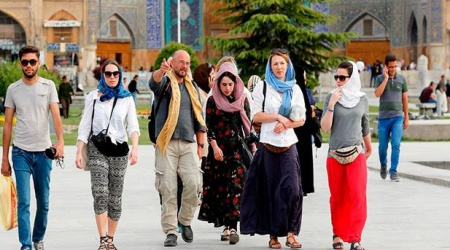 tourists en Iran